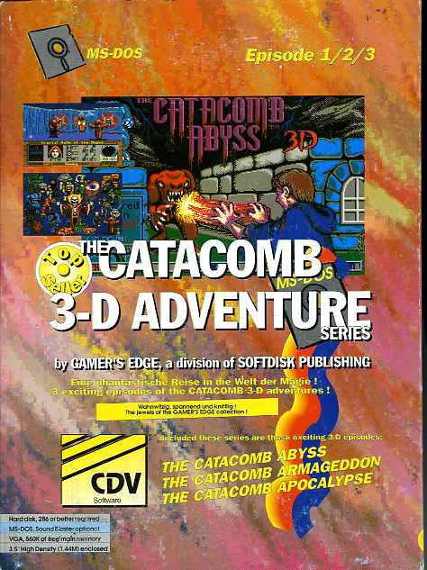 Cover Catacomb 3D Series